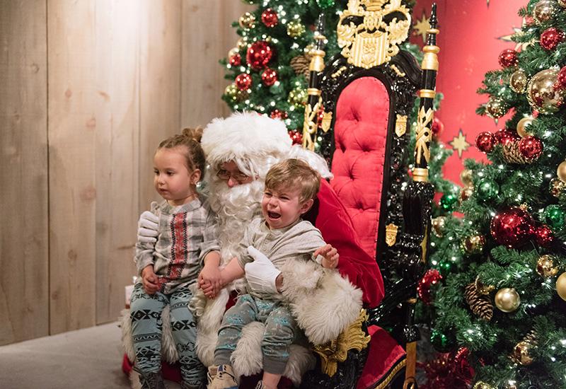 One Christmas Eve.Santa Photos Extended Hours Through Christmas Eve One