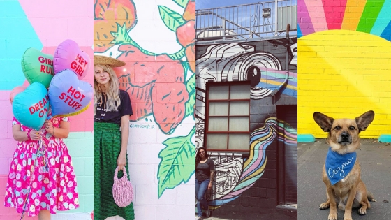 Our favorite Instagrammable Walls